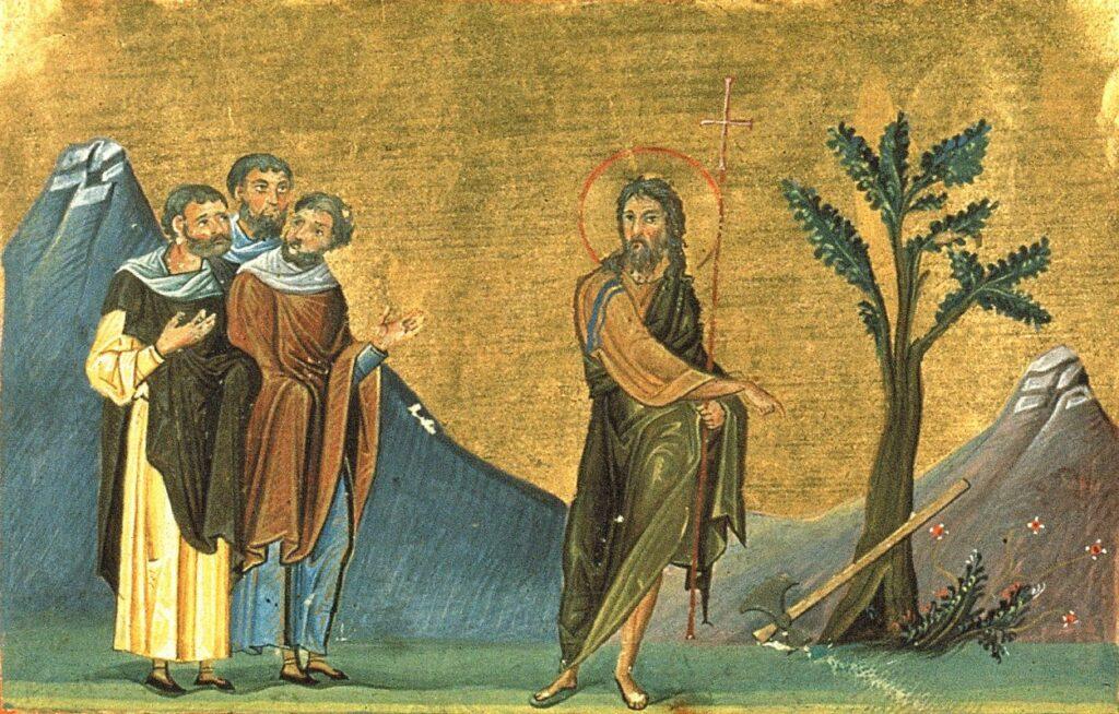 Άγιος Ιωάννης ο Πρόδρομος: Πρότυπο ιεραποστολής
