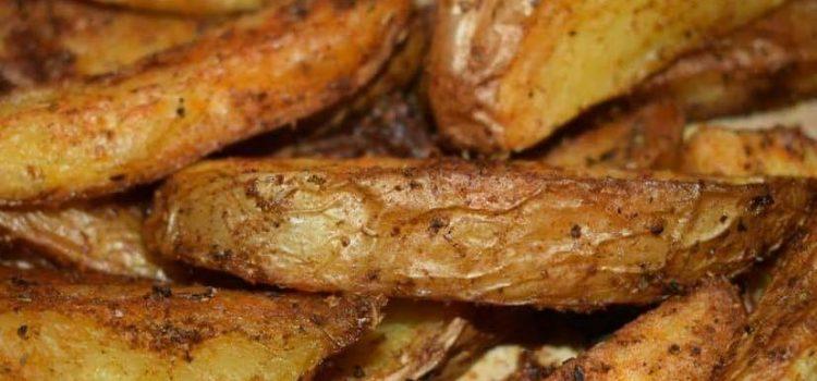 Πατάτες τηγανιτές στο φούρνο