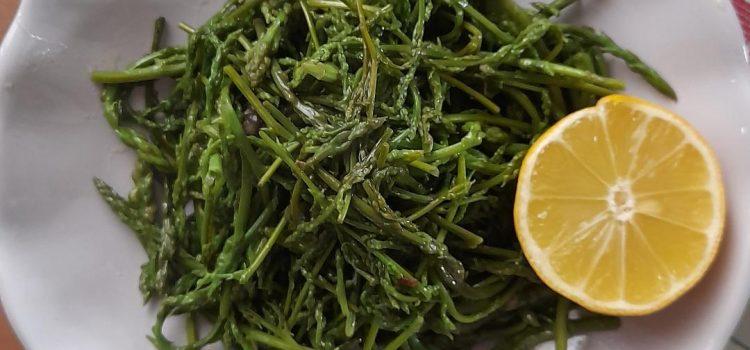 Σαλάτα με σφαράγγια (Σπαράγγια)