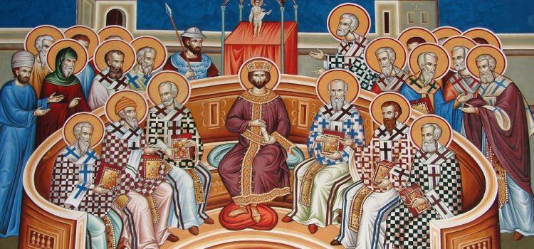 Η Κυριακή των 318 Αγίων Πατέρων της Α' Οικουμενικής Συνόδου - larissanet.gr
