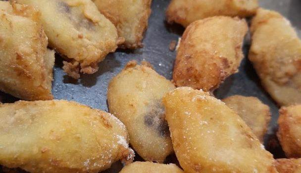 Μπανάνα τηγανιτή Κρήτης με κρούστα καλαμποκιού
